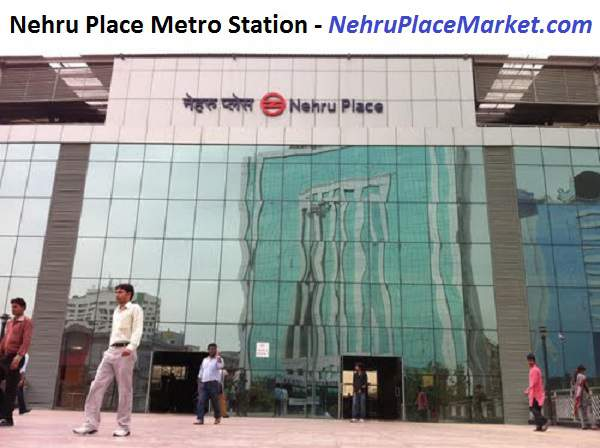 Nehru Place Metro Station